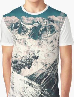 Vintage Mountains Graphic T-Shirt