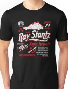 Ray Stantz Auto Repair Unisex T-Shirt