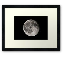 The Dark Side... Framed Print