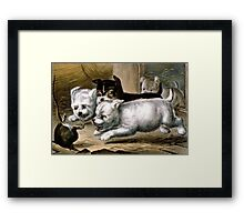 Going for him - 1868 - Currier & Ives Framed Print