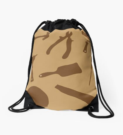 Collection building tools Drawstring Bag