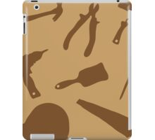Collection building tools iPad Case/Skin