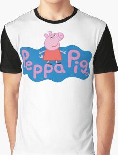 Peppa Pig logo Graphic T-Shirt