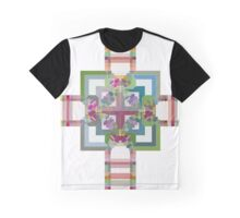 Pastel Cross Graphic T-Shirt