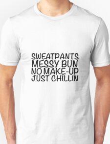 Sweatpants Messy Unisex T-Shirt