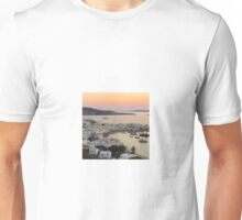 Sunset, Myconos Island, Greece Unisex T-Shirt