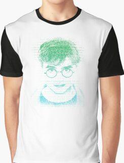 Harry Potter - Texte Face Graphic T-Shirt
