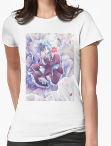 Rem Sleeping Womens Fitted T-Shirt