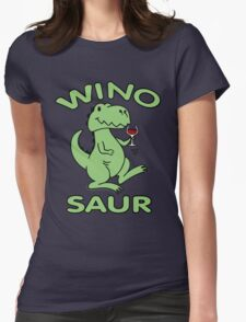 Winosaur T-Shirt - Winosaur Shirt - Winosaur T Shirt Womens Fitted T-Shirt
