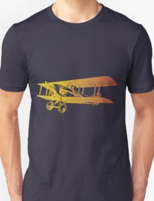 Vintage Airplane - Born to Fly 2 Unisex T-Shirt