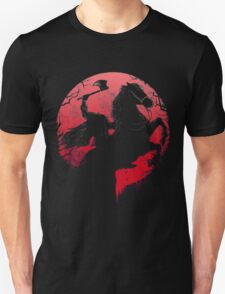 Spatar in red moon Unisex T-Shirt