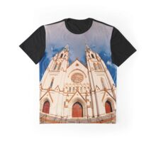 Cathedral in Savannah Graphic T-Shirt