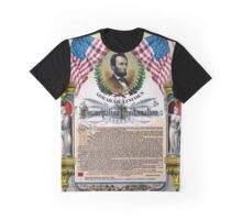 Unique Abraham Lincoln Emancipation Proclamation  Graphic T-Shirt