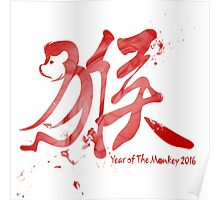 Year of the monkey 2016 Poster