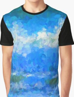 Scattered Diamonds of the Sea Graphic T-Shirt