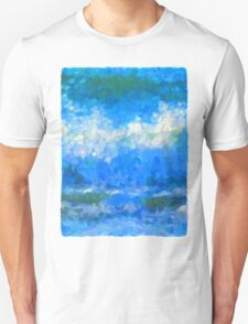 Scattered Diamonds of the Sea Unisex T-Shirt