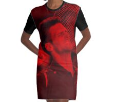 Novak Djokovic - Celebrity Graphic T-Shirt Dress