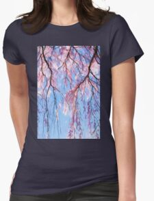 Linger With Me Now Womens Fitted T-Shirt