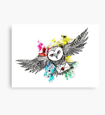 Hedwig Canvas Print