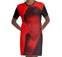 Paul McCartney - Celebrity Graphic T-Shirt Dress