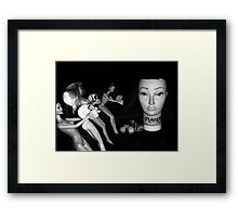 Mandy Demands Tribute Framed Print