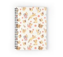 The Kiki Pattern Spiral Notebook