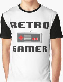 Retro Gamer Graphic T-Shirt