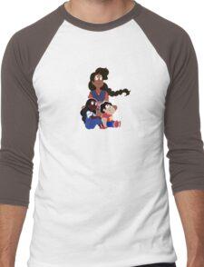 Mindful Stevonnie Men's Baseball ¾ T-Shirt