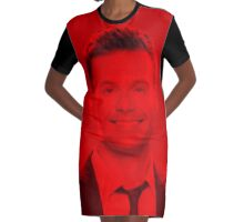Ryan Seacrest - Celebrity Graphic T-Shirt Dress