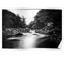 River Feugh, Banchory, Aberdeenshire Poster