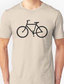 black bicycle bike Unisex T-Shirt