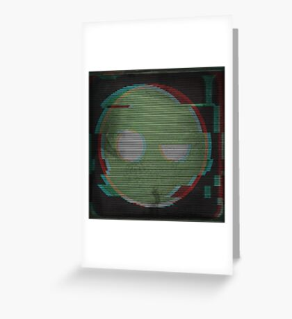 Glitched Superintendent Greeting Card