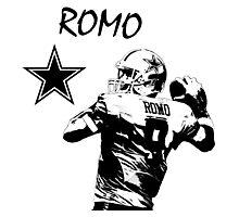 Tony Romo - Dallas Cowboys - NFL Photographic Print