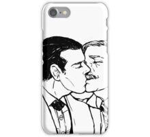 Victorian Johnlock Kiss iPhone Case/Skin