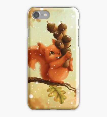 Stupid Squirrel iPhone Case/Skin