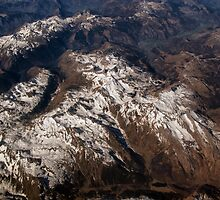 Pyrenean Mountain Peaks by Kasia-D
