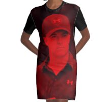 Jordan Spieth - Celebrity Graphic T-Shirt Dress