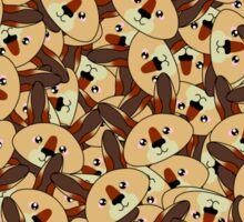 Mini Kangaroos - Australian animal design Sticker