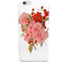 Roses and cherries iPhone Case/Skin