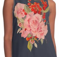 Roses and cherries Contrast Tank