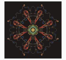 Mandala - 0013 - The Raven and the Sea Baby Tee