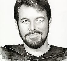 Commander William Riker by OlechkaDesign