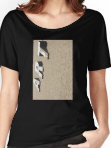 Art in the Sand Verticle Women's Relaxed Fit T-Shirt