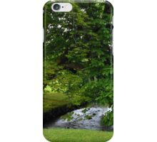 Little Stream in Lews Castle Grounds iPhone Case/Skin