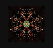 Mandala - 0013 - The Raven and the Sea and the Stars Unisex T-Shirt