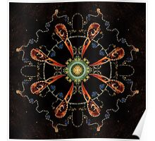 Mandala - 0013 - The Raven and the Sea and the Stars Poster