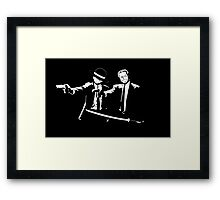 One piece Pulp Fiction Framed Print