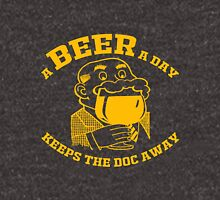 A BEER A DAY KEEPS THE DOCTOR AWAY Unisex T-Shirt