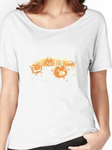 pumpkin Halloween Women's Relaxed Fit T-Shirt