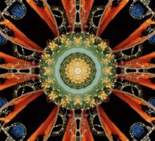 Mandala - 0013 - The Raven and the Sea 16 Mirror Sticker